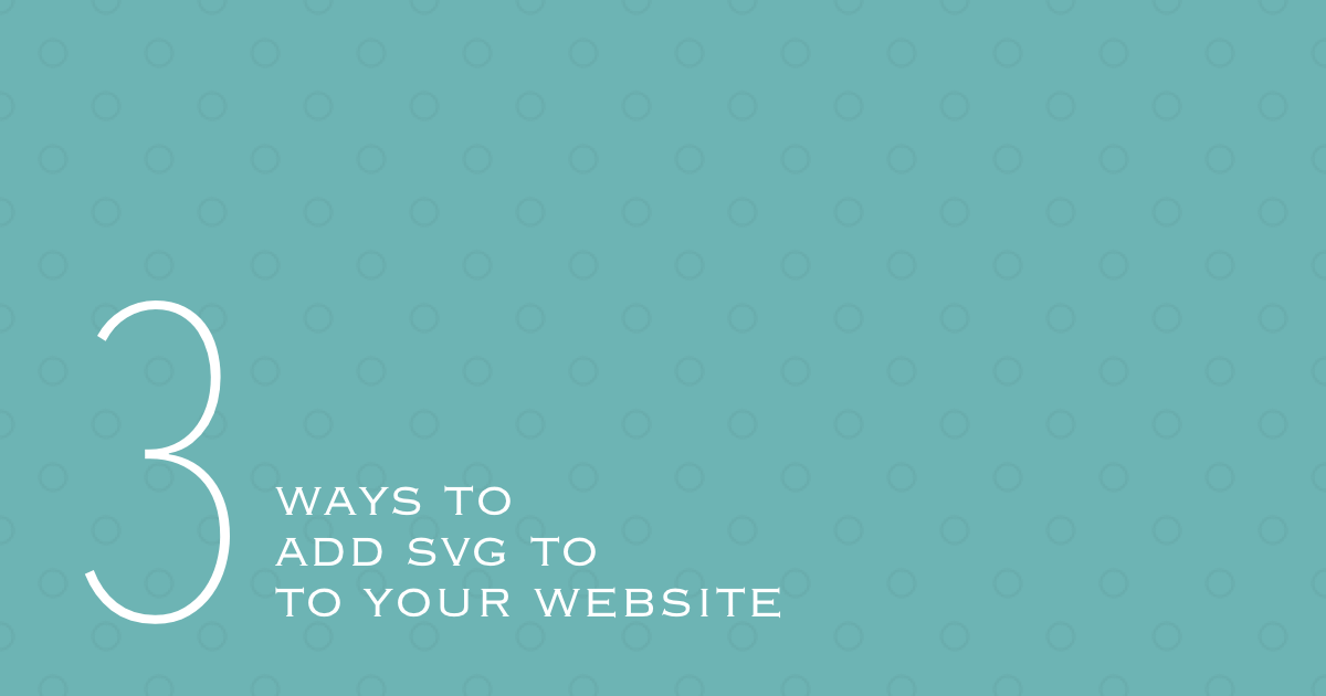 3 ways to add svg