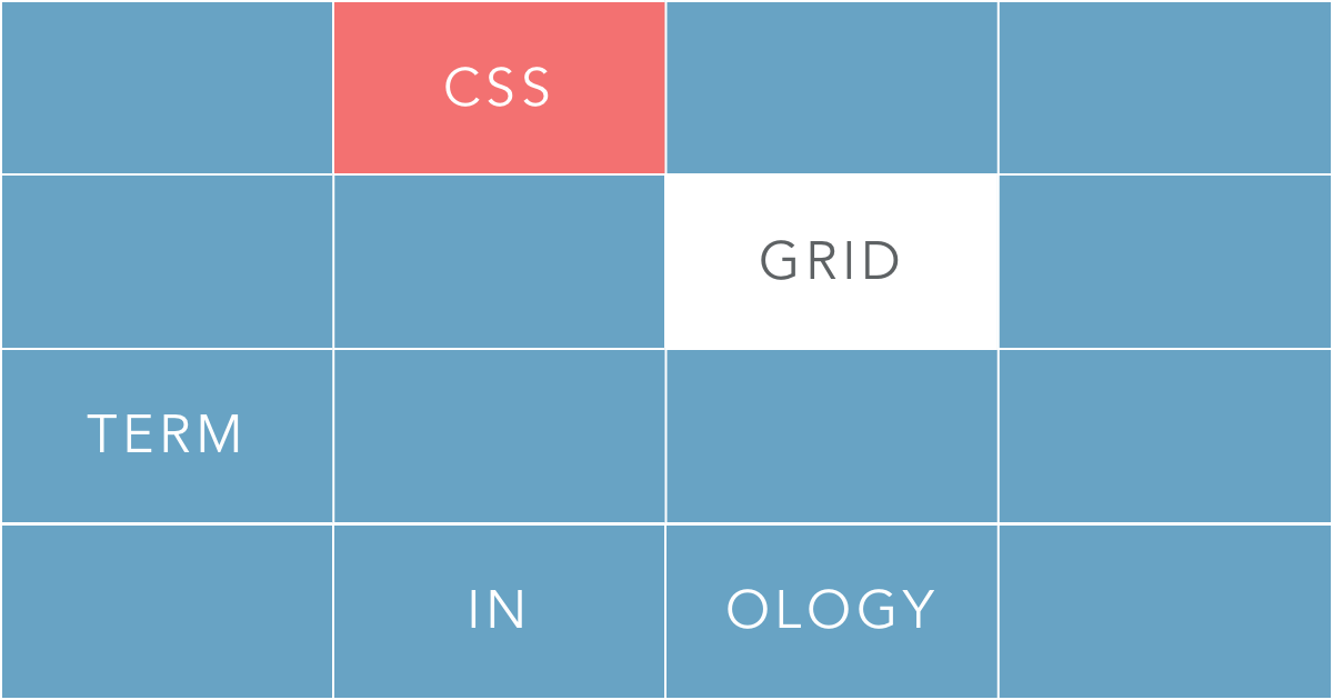 Css grid terminology