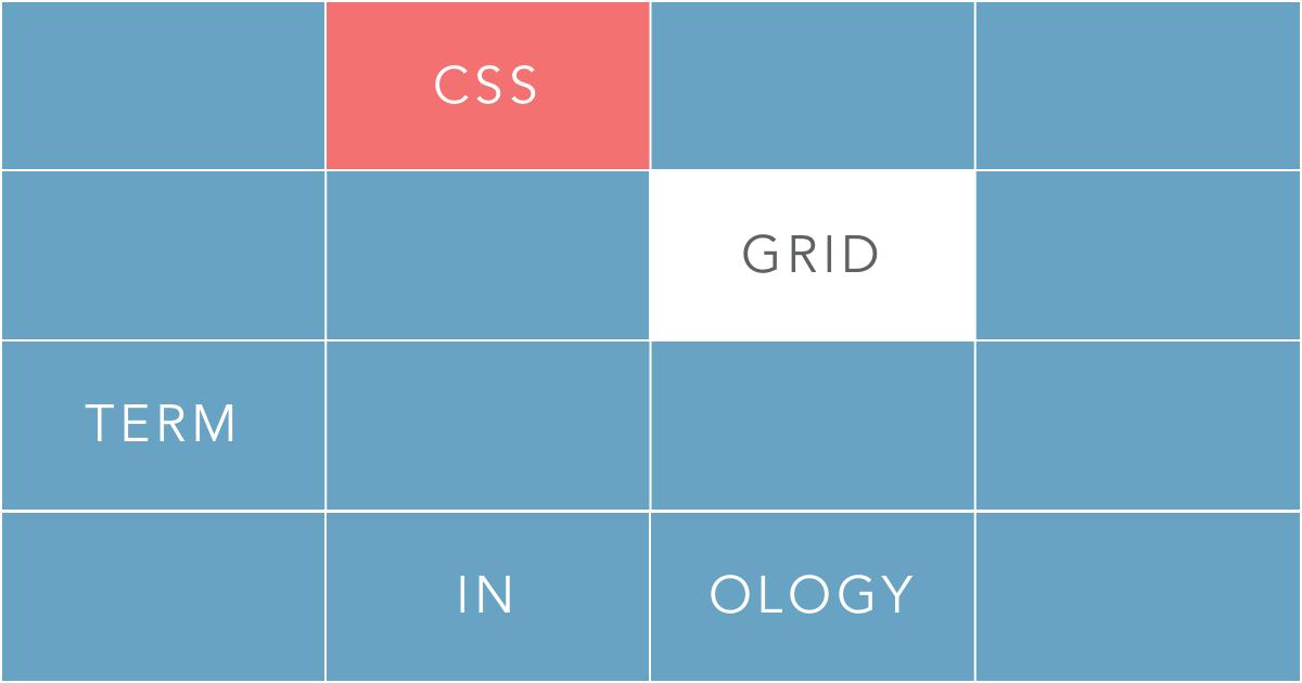Css grid terminology