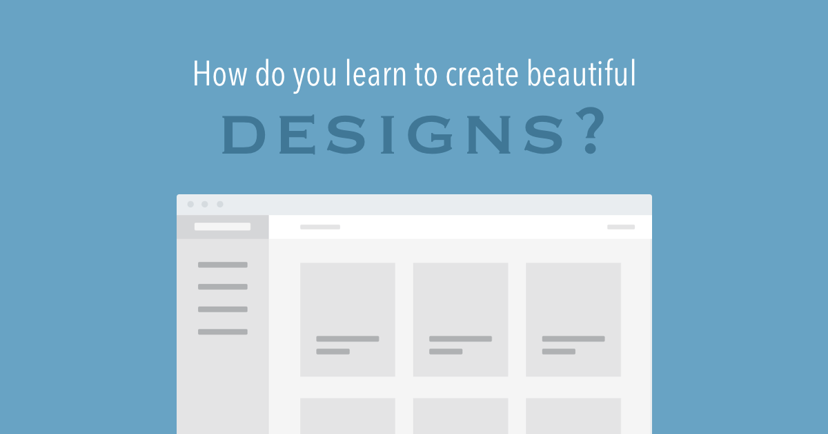 How do you learn web design
